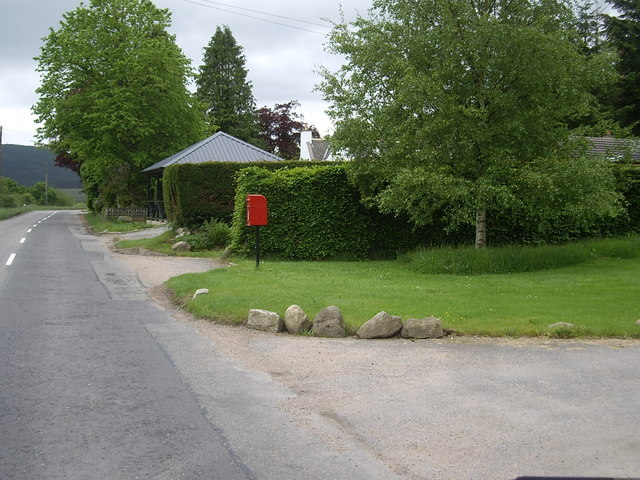 Postbox at Collonach