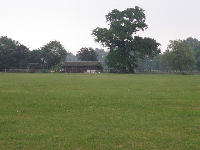 Elton Park cricket field and pavilion