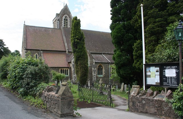 St. James Church, West Malvern