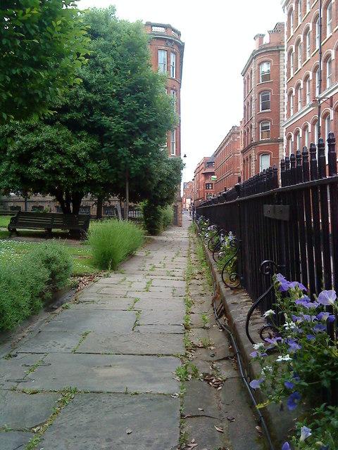 Churchyard railings, St. Mary's, Nottingham