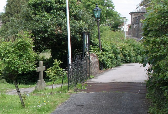 Cattle grid in St James' Churchyard, West Malvern
