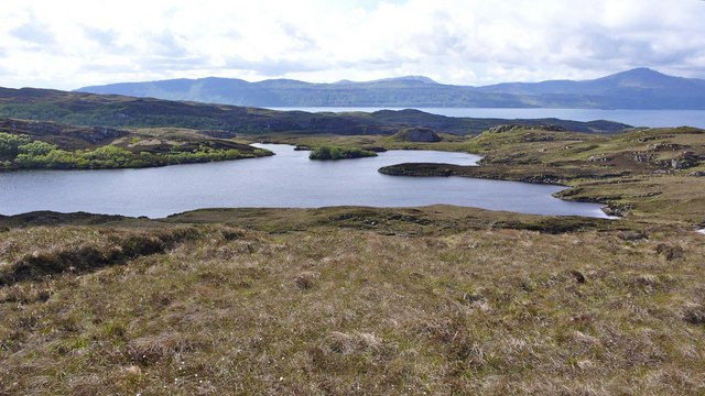 Loch an Uachdair, north Raasay