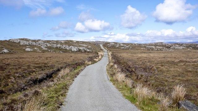 Calum's Road - Raasay - looking south towards Brochel