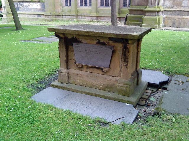 Tomb of Benjamin Bower x 2