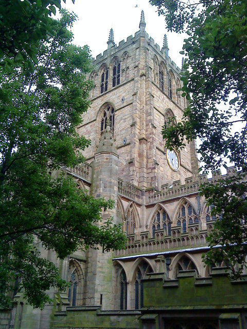 Tower of St. Mary's Church, Nottingham