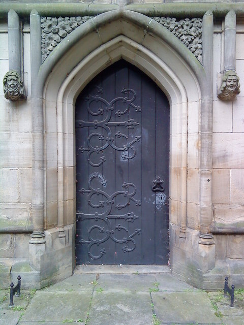 Doorway to the North Aisle, St. Mary's, Nottingham