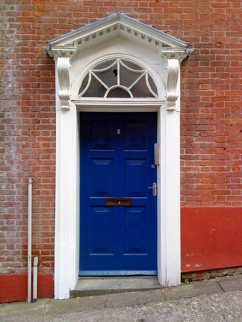 Georgian doorway on Short Hill