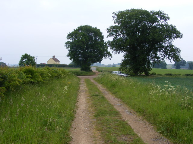 Bridleway near Hardley Hall