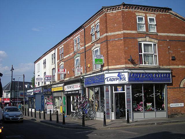 Shops on Ladypool Road - Balsall Heath