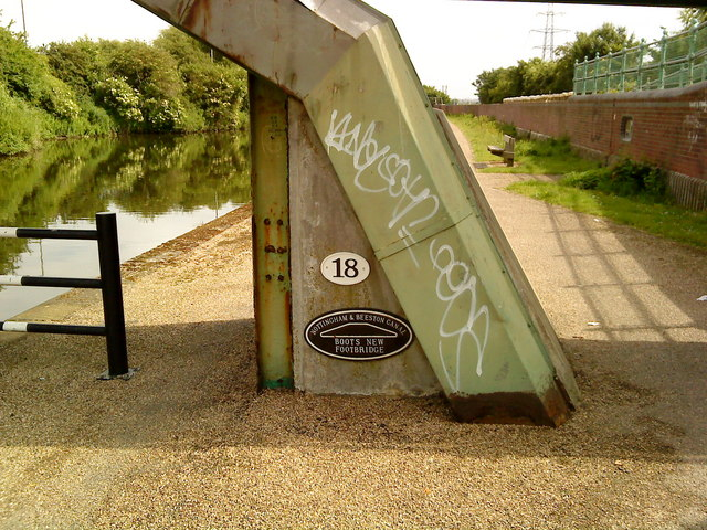 Bridge 18 on the Beeston Canal