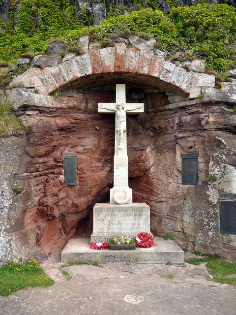 War Memorial, Bamburgh Castle