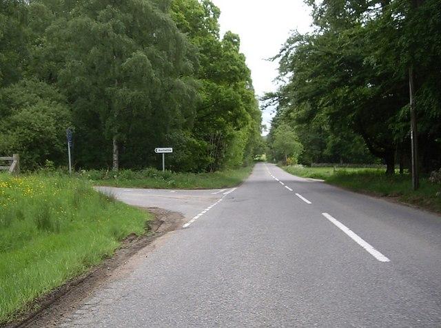 Junction for Auchattie