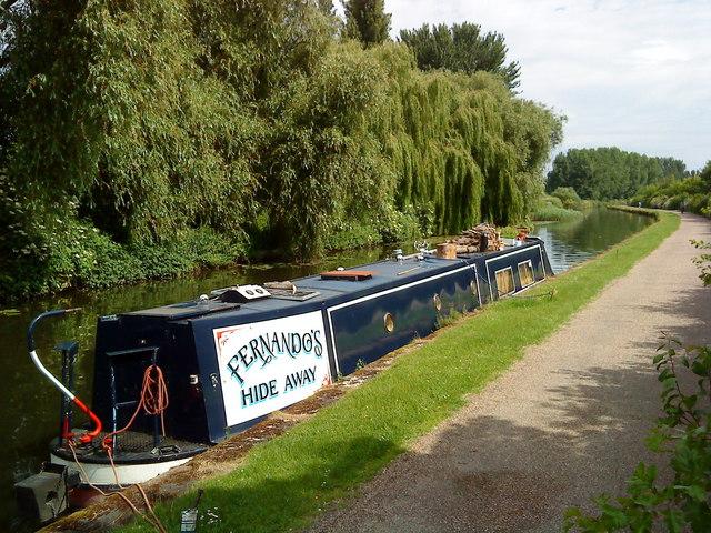 Fernando's Hide Away on the Beeston Canal