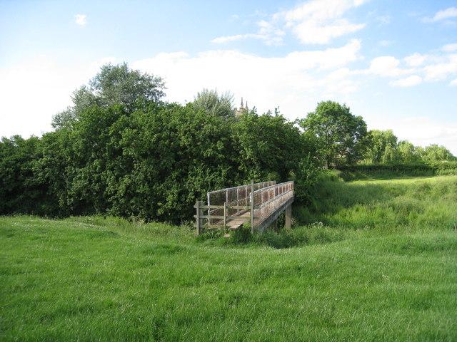 Church Bridge, Barnby in the Willows