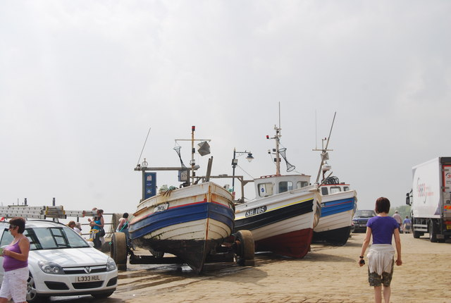 Boats, Coble Landing, Filey