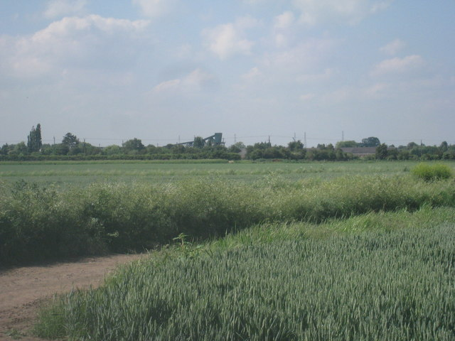 View towards Keadby Bridge