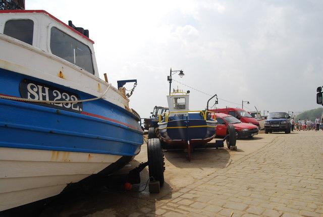 Boat, Coble Landing