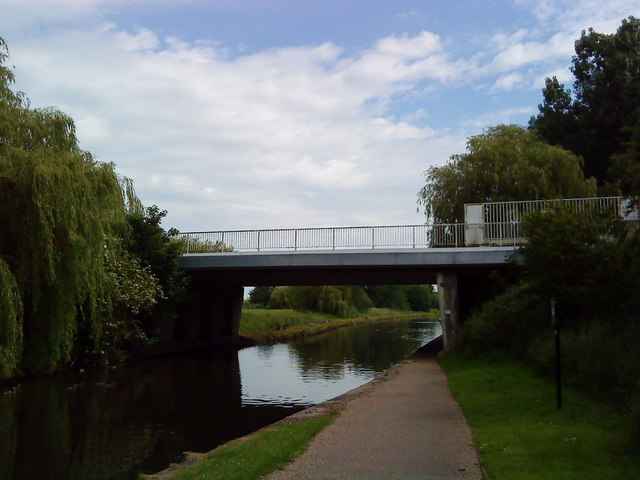 Bridge over the Beeston Canal
