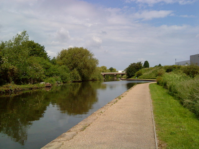 Winding hole on the Beeston Canal