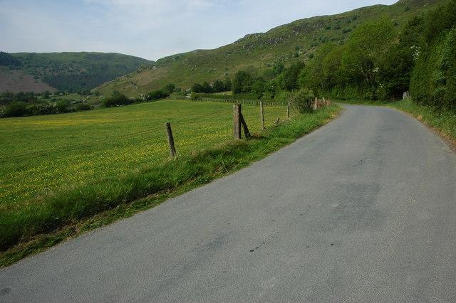 Road near Gilfach