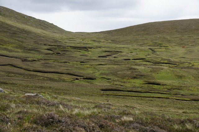 Valley of the Burn of Southerhouse, Westing
