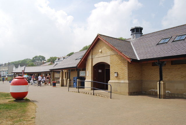 Seafront Toilet block, Filey