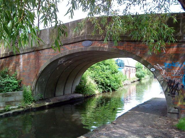 Bridge over the Beeston Canal