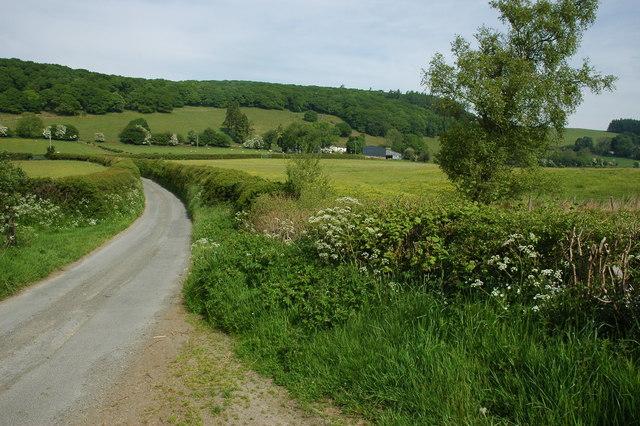 View towards Cefn Cenarth