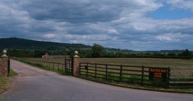 Monk Park Farm entrance