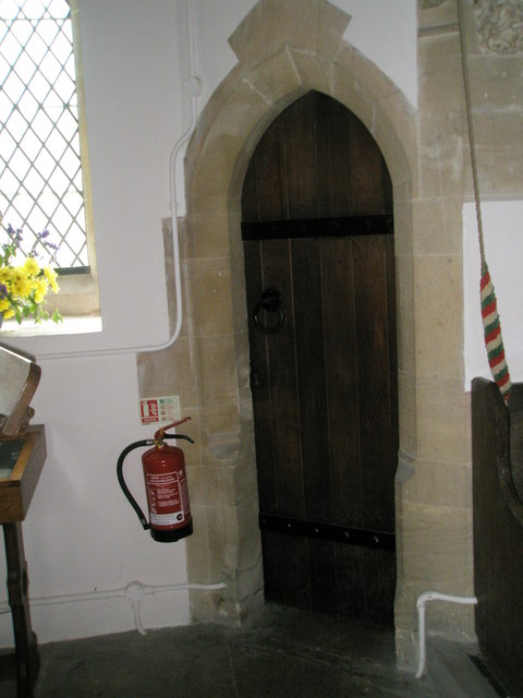 Door to the vestry at Christ Church Forestside