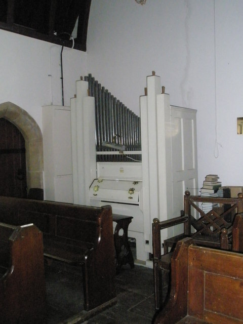 Christ Church Forestside- organ