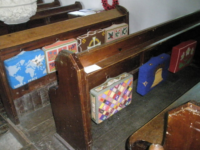 Christ Church Forestside- kneelers and pews (1)
