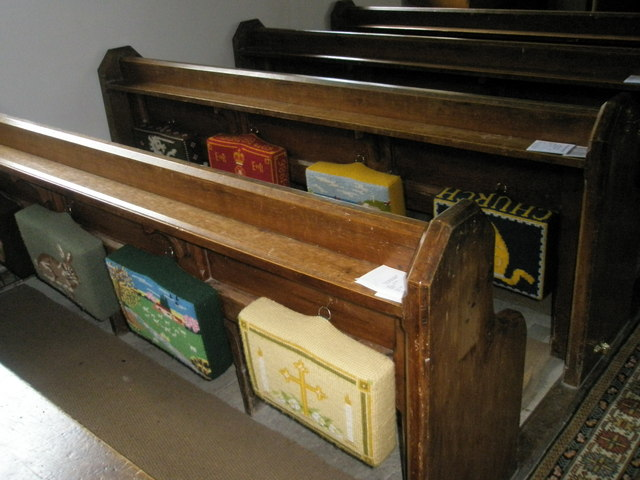 Christ Church Forestside- kneelers and pews (2)