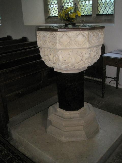 Christ Church Forestside- font