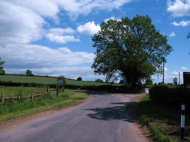 The road to Kilburn