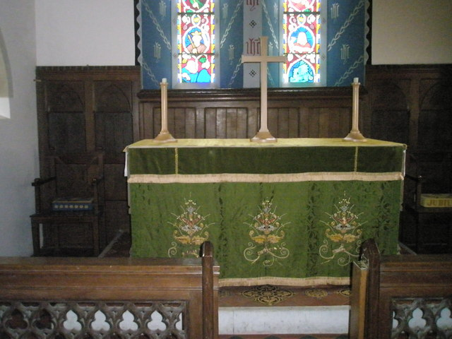 Christ Church Forestside- altar