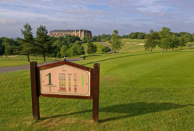 1st tee, Roman Road golf course