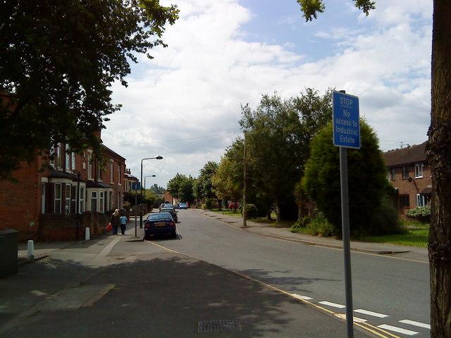 Montpellier Road, Beeston