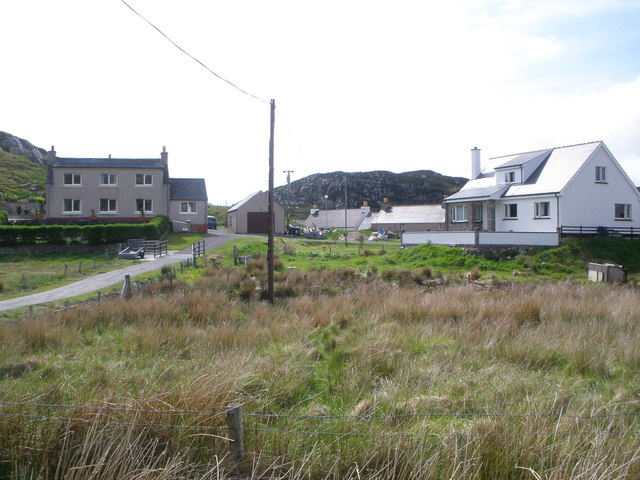 Housing at Eilean an Duine