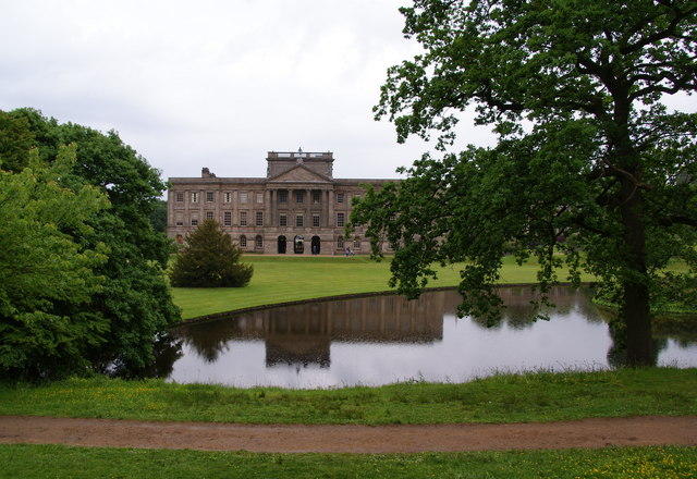 Lyme Hall from the south