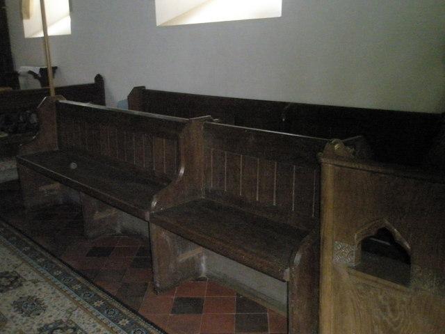 Christ Church Forestside- choir stalls