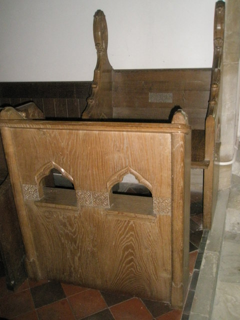 Christ Church Forestside- the incumbent's chair