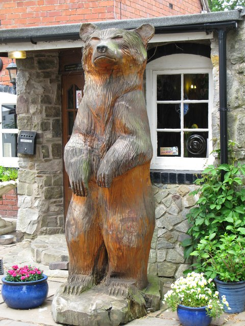 The Bear at the 'Naughty Jack' in Hindford