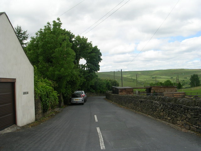 Lane Head Lane - viewed from Per Lane