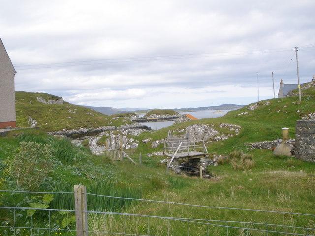 Footbridge at Plocrapol