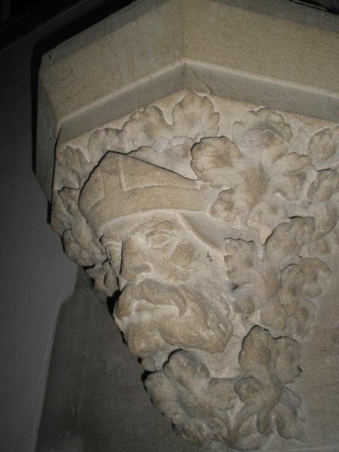 Christ Church Forestside- stone carving (2)