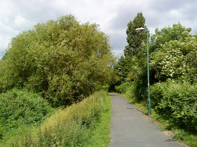 Cycle track in Dunkirk
