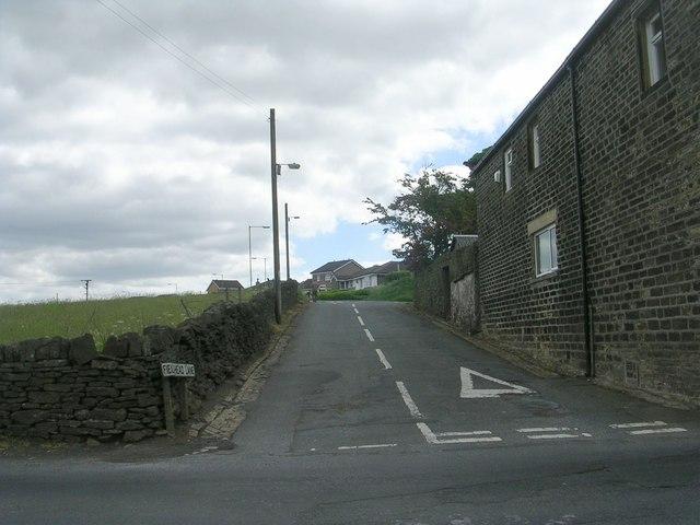 Fieldhead Lane - viewed from Per Lane