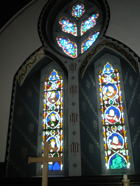 Christ Church Forestside- stained glass window