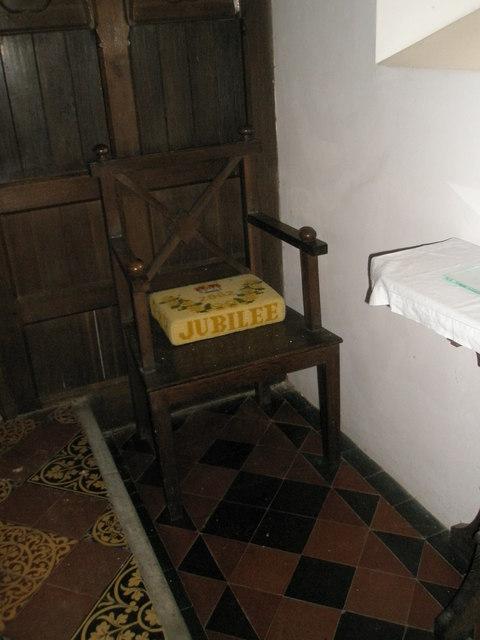 Christ Church, Forestside- Bishop's Chair